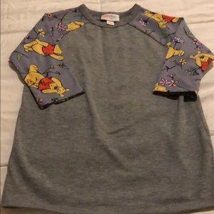 LuLaRoe Sloan Size 4 Disney's Winnie The Pooh